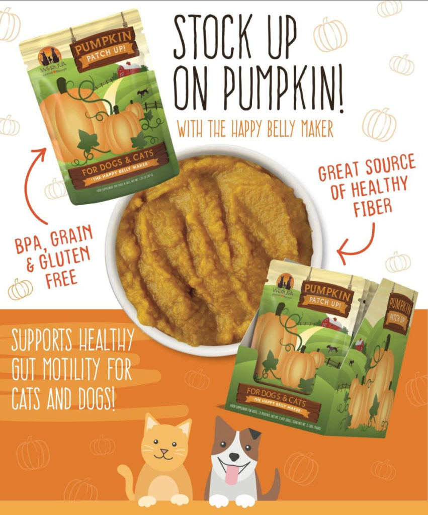 Pumpkin for pets weruva promo picture